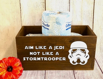 'Star Wars' Wooden Bathroom Box