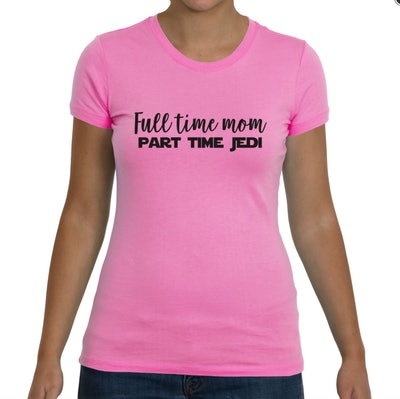 Full Time Mom, Part Time Jedi Tee