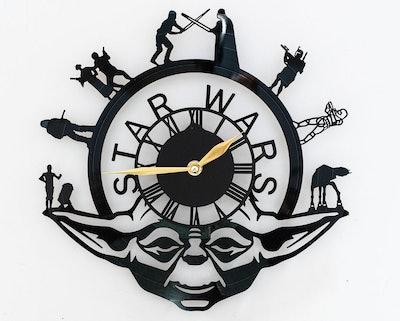 'Star Wars' Character Wall Clock