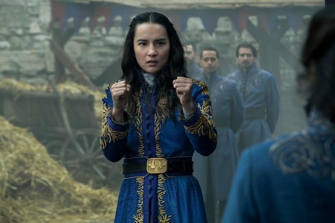 Jessie Mei Li as Alina Starkov in Netflix's adaptation of 'Shadow and Bone.'