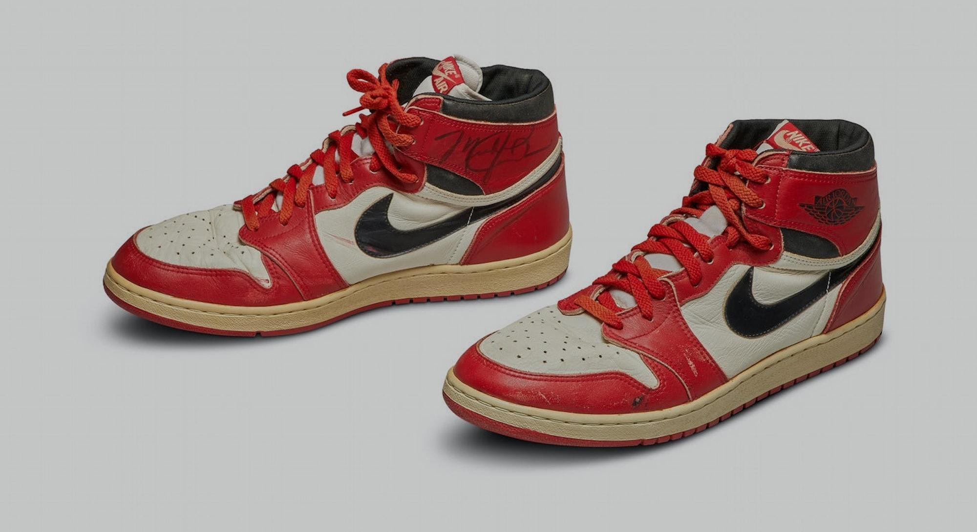 MJ Air Jordan 1's.
