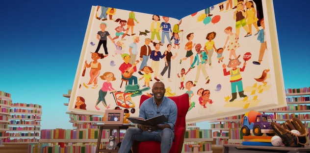 Black celebrities read stories by Black authors in Netflix's original storytime series, 'Bookmarks.'