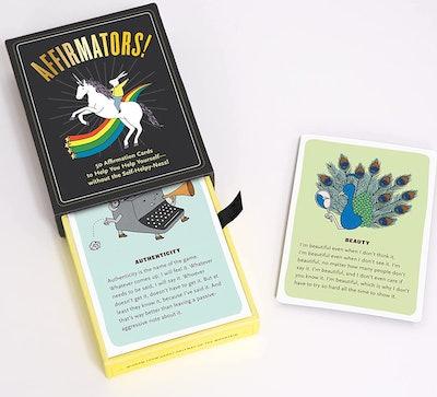 Knock Knock Affirmators! 50 Affirmation Cards