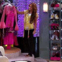 Hannah Montana's iconic closet