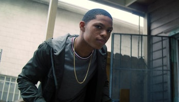 Elijah Richardson as Eli Bradley in The Falcon and the Winter Soldier Episode 6