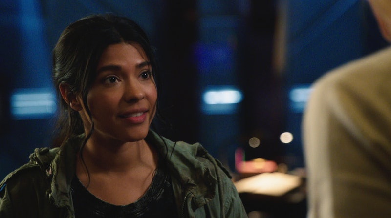 "Lisseth Chavez as Esperanza ""Spooner"" Cruz in 'Legends of Tomorrow' Season 6"