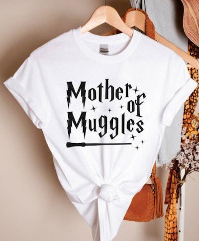JosepMooreStore Mother of Muggles T-Shirt