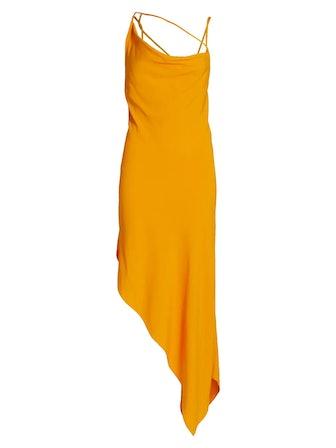 Criss Cross Slip Dress