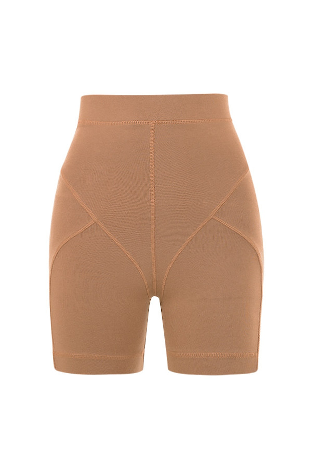 HARLEY TOFFEE COVERSTITCH SHORTS