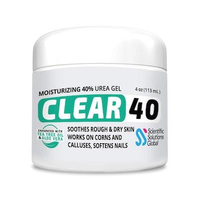 Scientific Solutions Global CLEAR 40 Moisturizing 40% Urea Gel