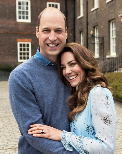 William & Kate's 10th wedding anniversary portrait