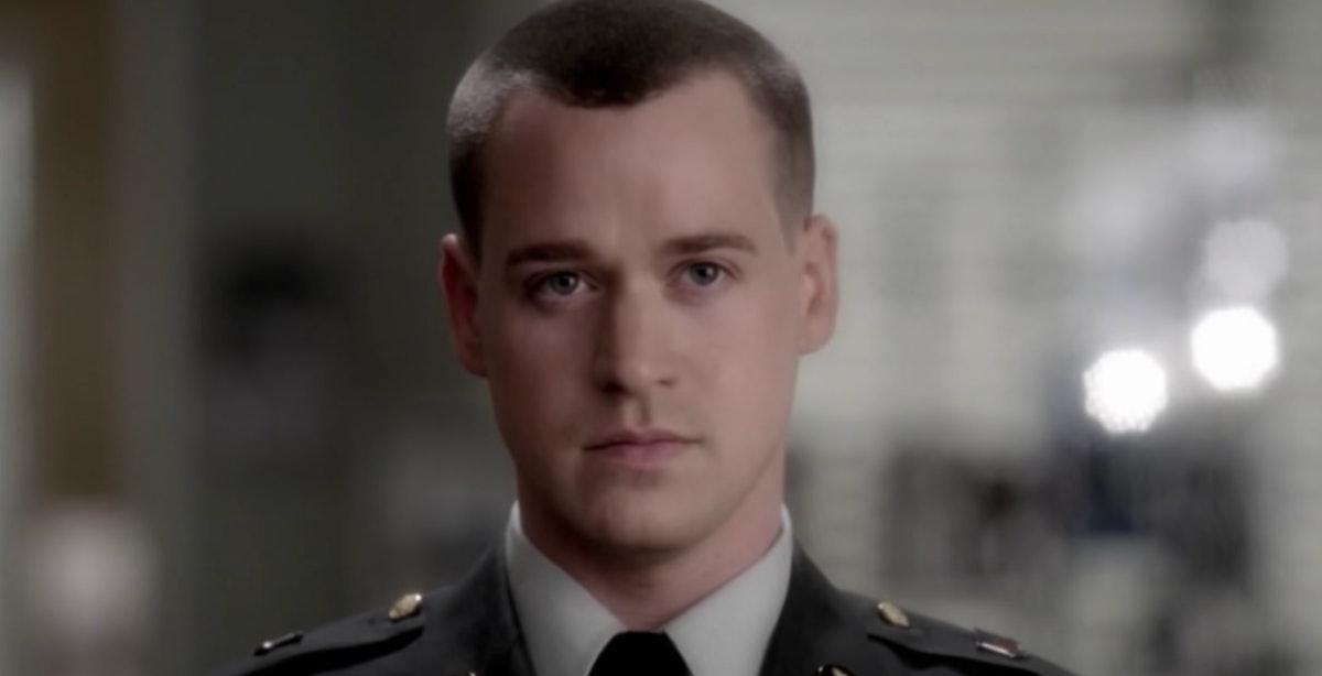 T.R. Knight as George O'Malley in Grey's Anatomy.