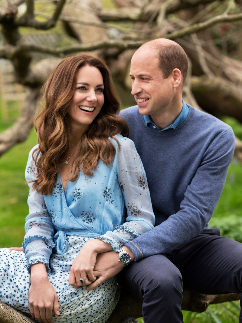 Kate & William's 10 wedding anniversary portrait
