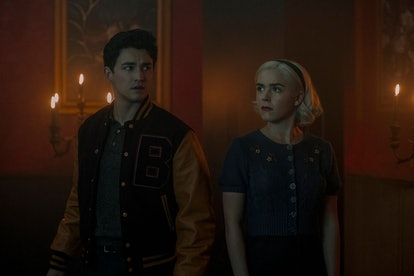 Nick Scratch was created just for 'The Chilling Adventures of Sabrina.'