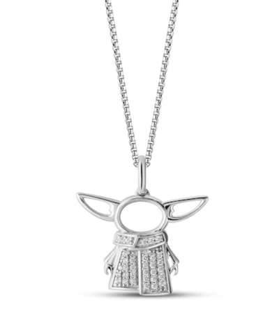 'The Mandalorian' Diamond Necklace