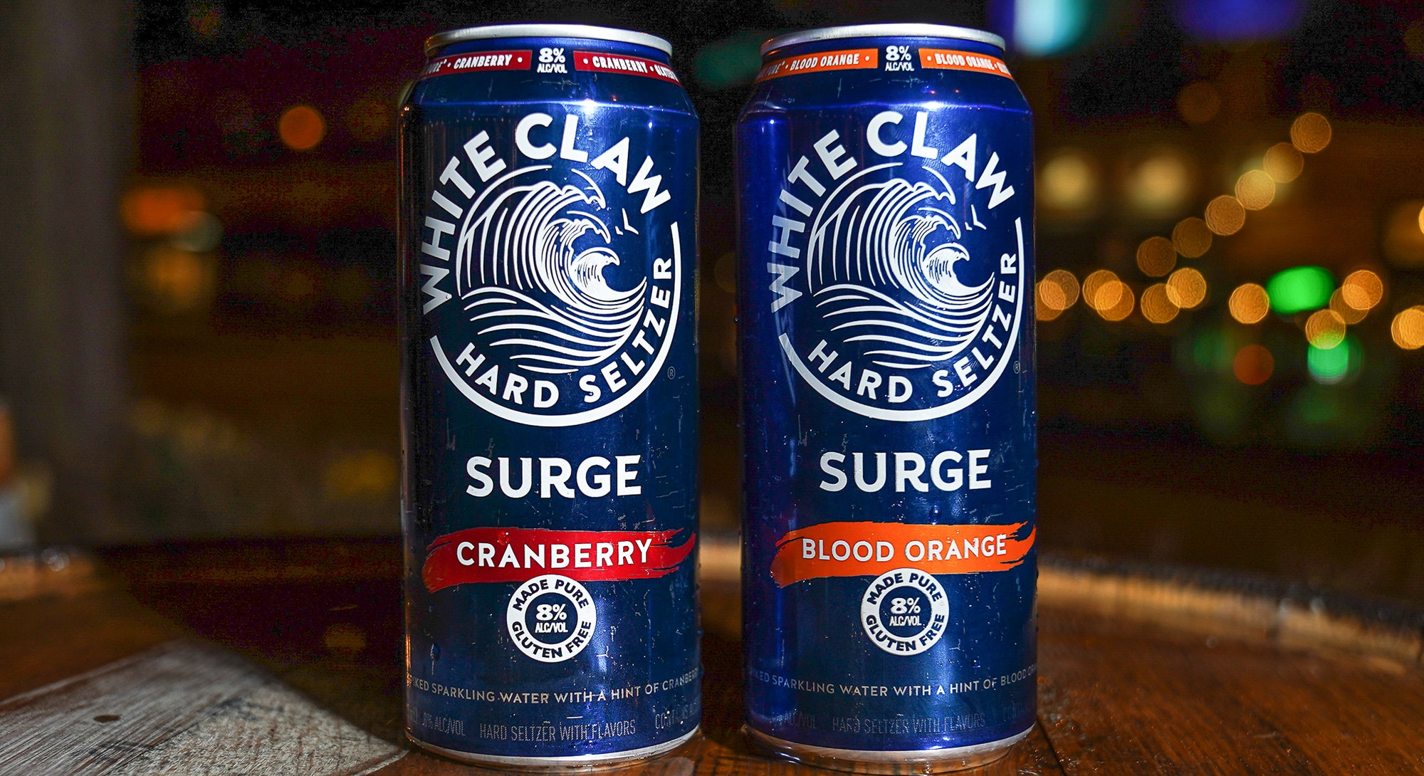 White Claw released a twist on the classic seltzer called White Claw Surge.