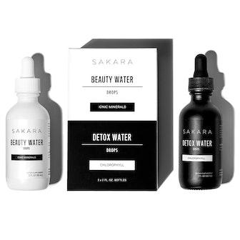 Beauty Water + Detox Water Drops