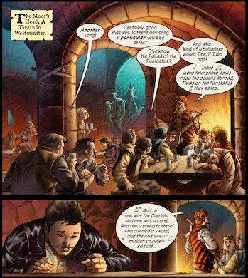 Marvel 1602 Avengers 5 Time travel multiverses steve rogers