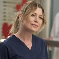Ellen Pompeo as Meredith Grey on 'Grey's Anatomy'