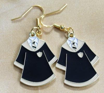 HourGlossCosmetics Hufflepuff Earrings