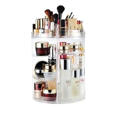 AmeiTech 360 Degree Rotating Makeup Organizer
