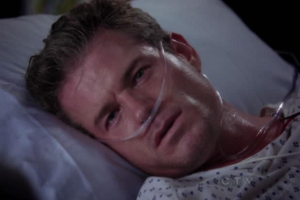 Eric Dane as Mark Sloan in Grey's Anatomy.