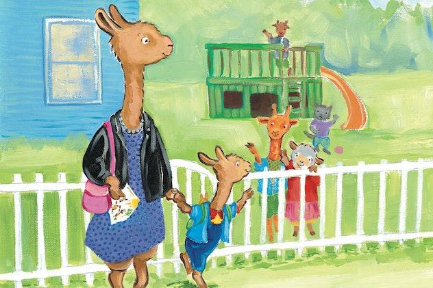The Netflix series, 'Llama Llama' is based on the best selling book, 'Llama Llama Red Pajama.'