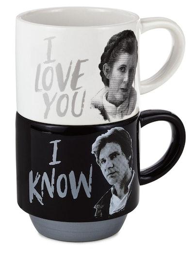 'Star Wars' Love You Stacking Mugs