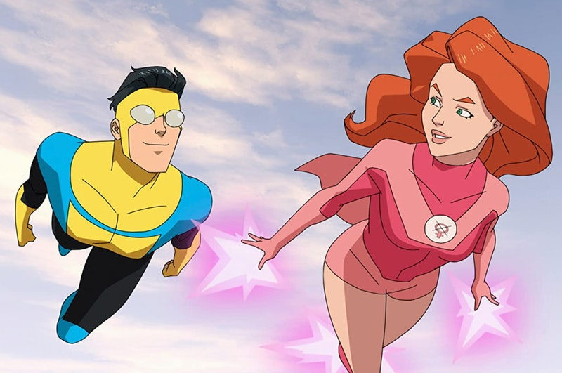 Mark and Eve in 'Invincible.'