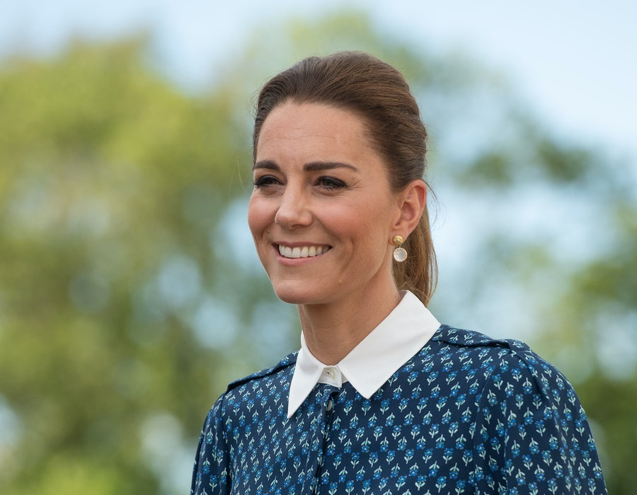 Catherine, Duchess of Cambridge visits Queen Elizabeth Hospital in King's Lynn as part of the NHS birthday celebrations on July 5, 2020 in Norfolk, England. Sunday marks the 72nd anniversary of the formation of the National Health Service (NHS). The UK has hailed its NHS for the work they have done during the Covid-19 pandemic.