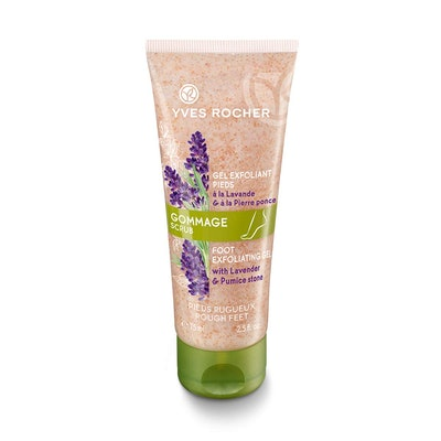 Yves Rocher Exfoliating Foot Scrub with Organic Lavender