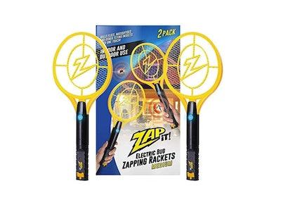 Zapper Rechargeable Bug Zapper Racket (2-Pack)