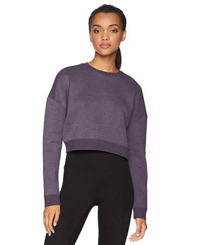Core 10  Motion Tech Fleece Cropped Sweatshirt
