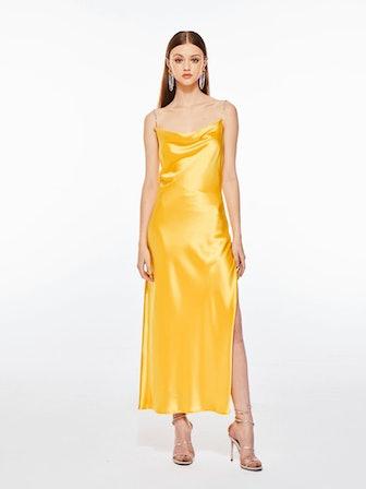 Muse Crystal Evening Dress
