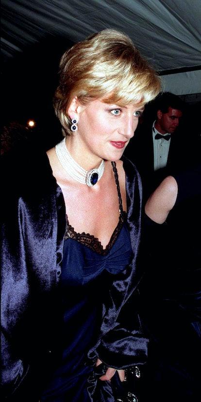 Princess Diana at the Met Gala 1996