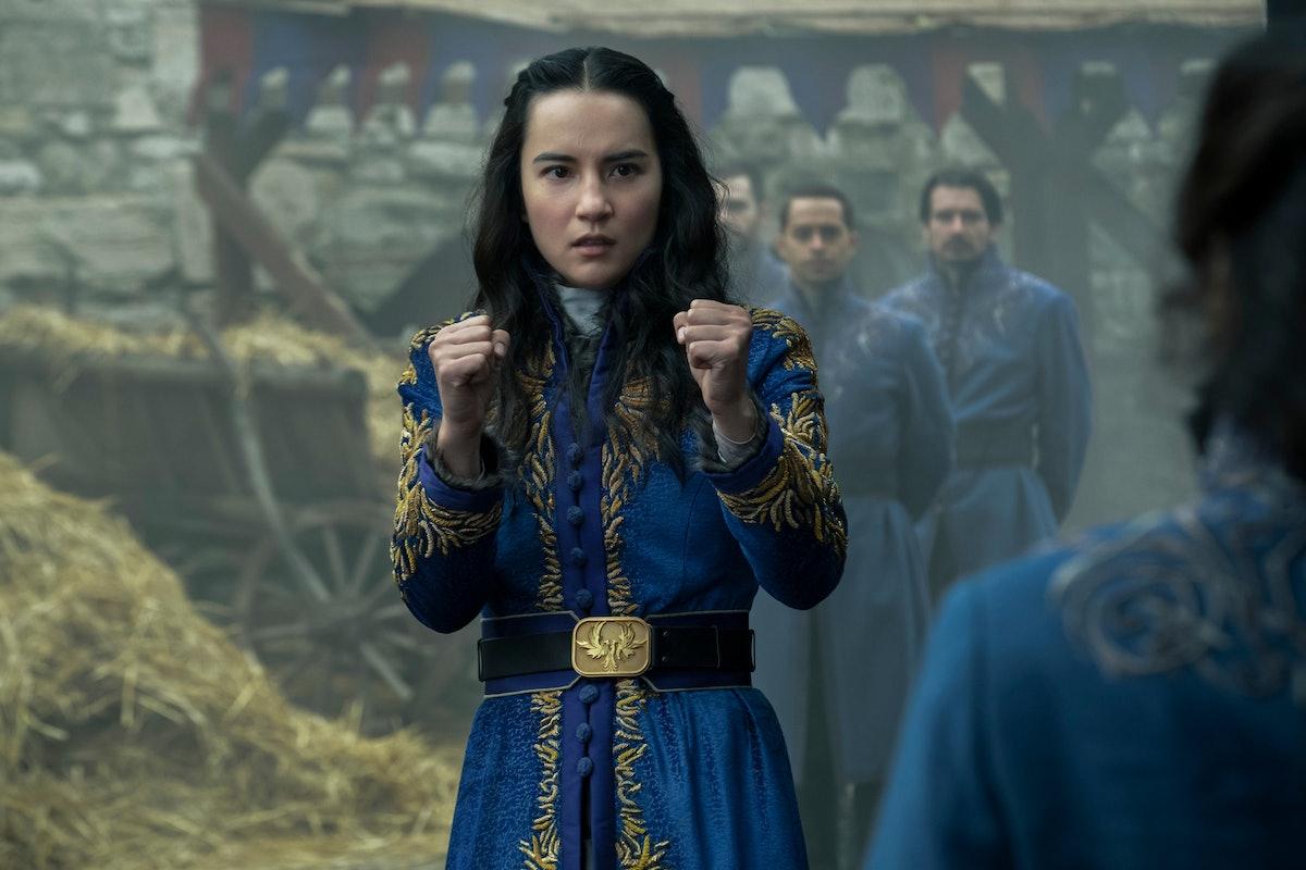 Jessie Mei Li as Alina Starkov in Shadow and Bone Season 1.