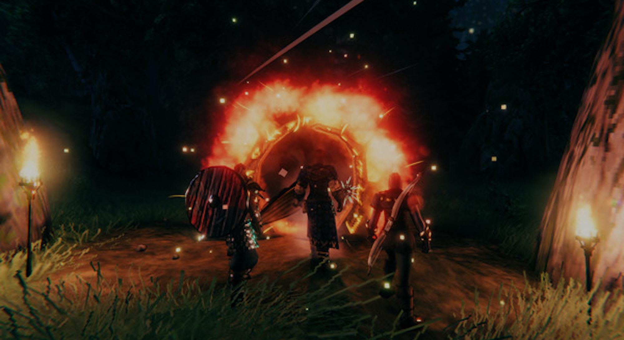 A screenshot from Valheim.