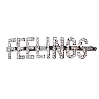 Feelings Rhinestone Bobby Pin