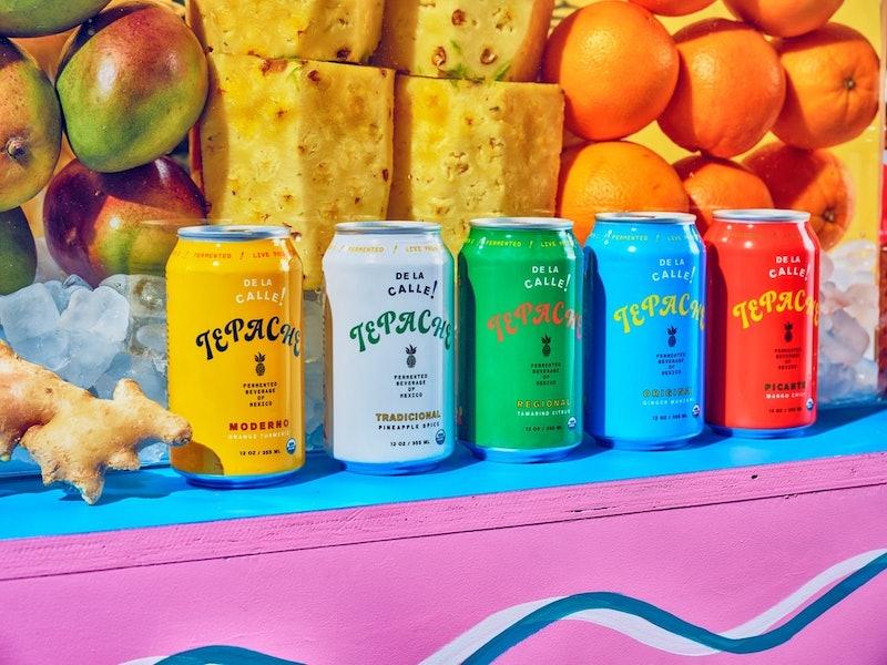de la calle tepache cans probiotic and prebiotic sodas