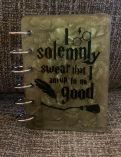 KraftedbyAlexis Harry Potter Notebook