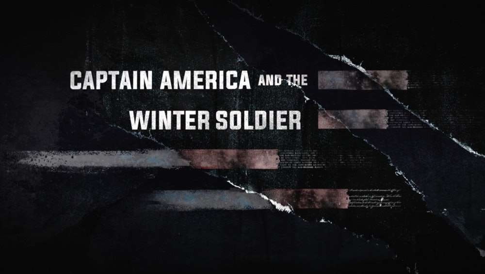 Captain America and the Winter Soldier title card