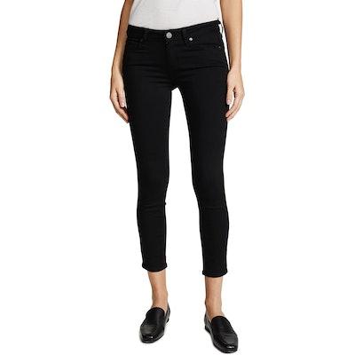 PAIGE Denim Transcend Verdugo Skinny Cropped Jeans
