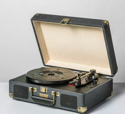 Hearth & Hand Suitcase Record Player