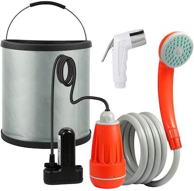 KEDSUM Portable Camping Shower and Pump