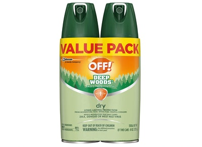 OFF! Deep Woods Insect & Mosquito Repellent, 4 oz. (2-Pack)