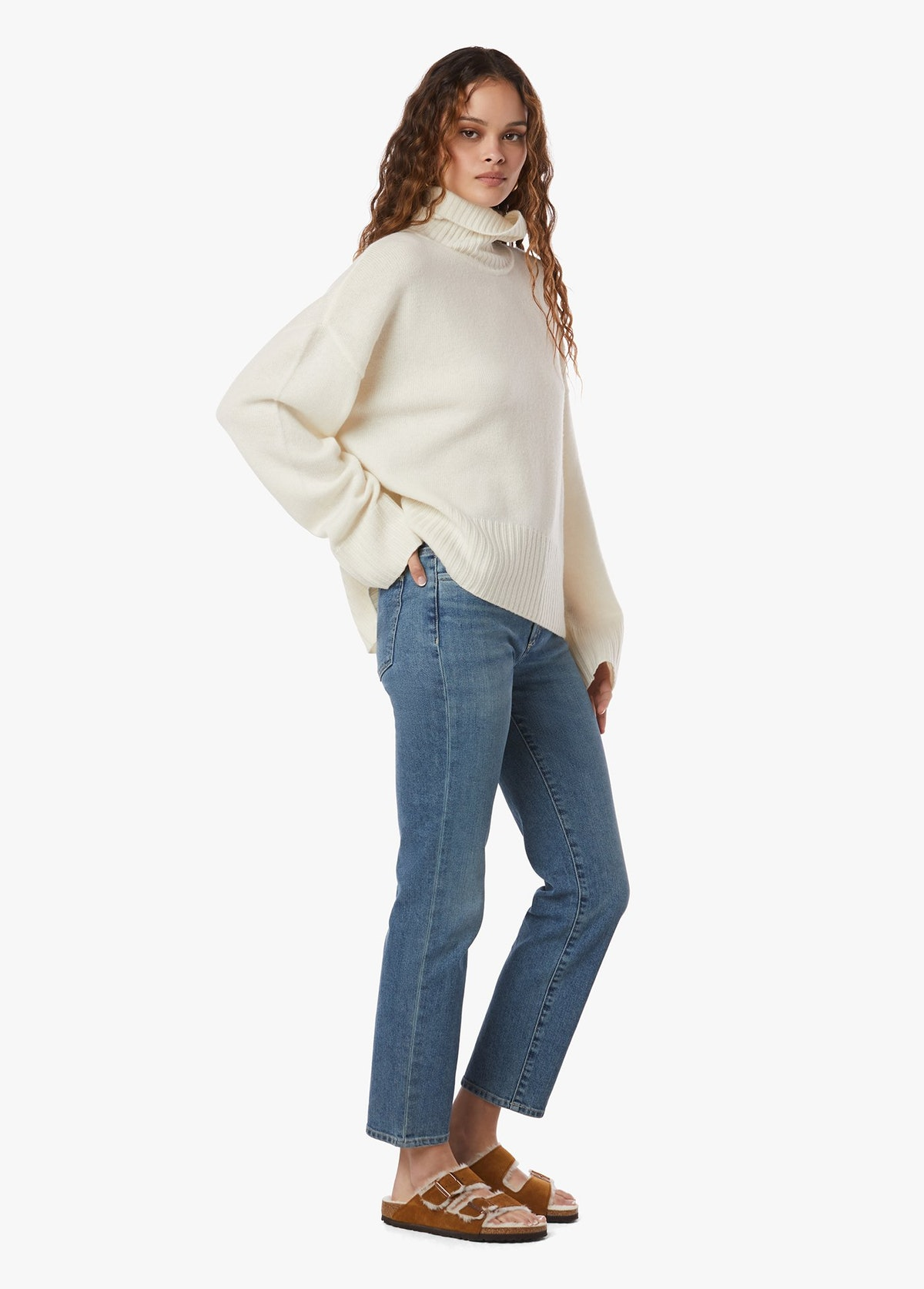 The Erin High-Rise Straight Jean