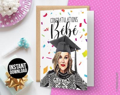 Congratulations Bébé Card