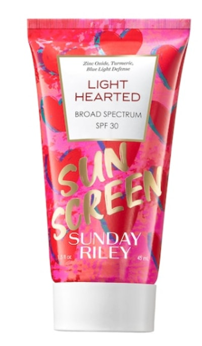 Light Hearted Broad Spectrum SPF 30 Daily Face Sunscreen