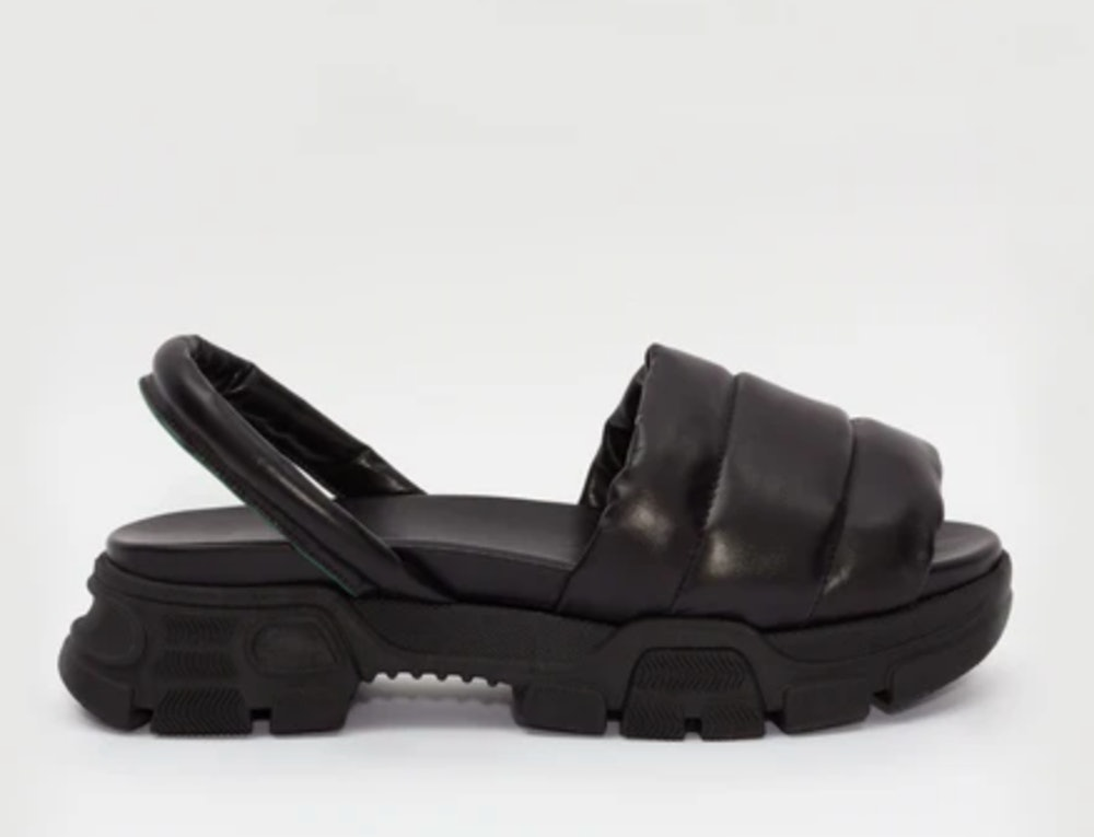 Quilted Sporty Sandal