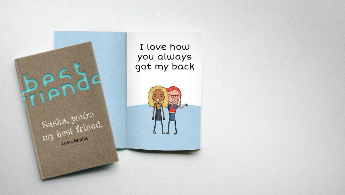 LoveBook Personalized Best Friend Book